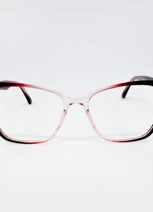 Armação óculos de grau feminino miopia hipermetropia rafaello - raf45