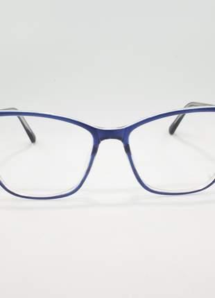 Armação óculos de grau feminino miopia hipermetropia rafaello - raf46