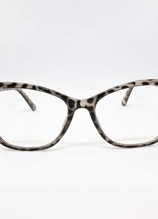 Armação óculos de grau feminino miopia hipermetropia rafaello - raf48