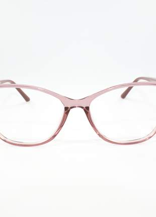 Armação óculos de grau feminino miopia hipermetropia rafaello - raf49