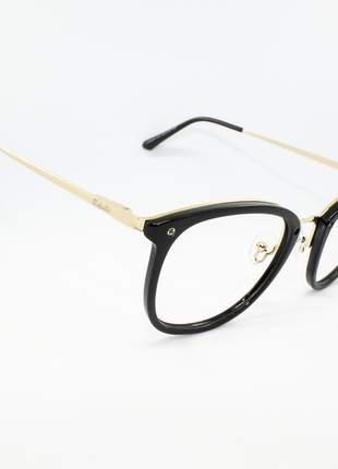 Armação óculos de grau feminino miopia hipermetropia rafaello - raf52