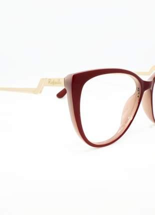Armação óculos de grau feminino miopia hipermetropia rafaello - raf54