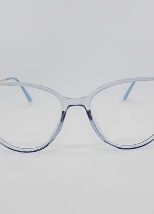 Armação óculos de grau feminino miopia hipermetropia rafaello - raf57