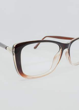Armação óculos de grau feminino miopia hipermetropia rafaello - raf58