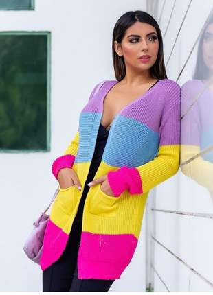 Casaco,kimono , cardigã lindo da barbie moda blogueiras