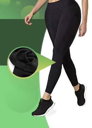 Calça legging forrada flanelada pelúcia ideal para o friozinho super quentinha inverno