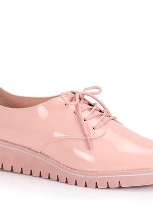 Oxford feminino tratorado rosa claro