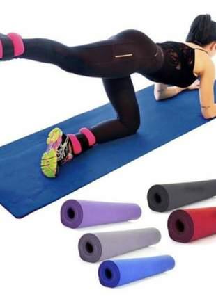 Tapete colchonete yoga pilates fitness ginastica