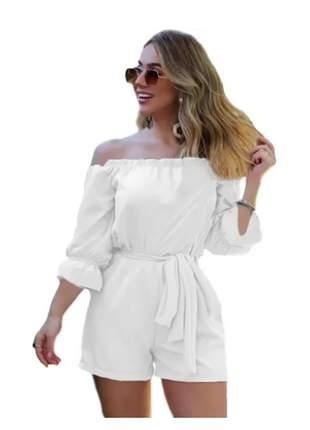 Macacão feminino macaquinho lançamento verão moda blogueira