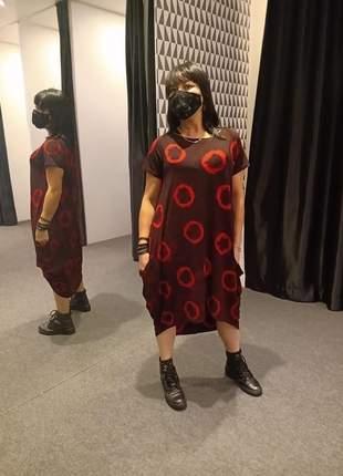 Vestido tie dye
