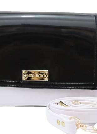 Bolsas pequena giullia bardô feminina pvc bolsa0010bp