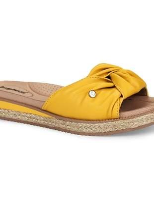 Tamanco Campesí Conforto Dijon Corda Natural Amarelo L6961