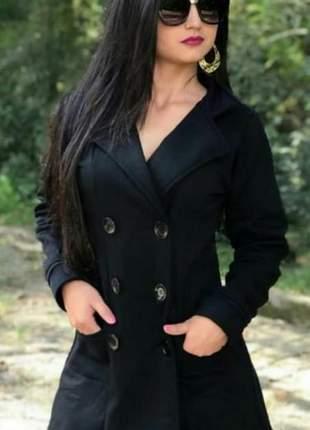 Moletom feminino casaco sobretudo frio roupas inverno blusa tendência frio