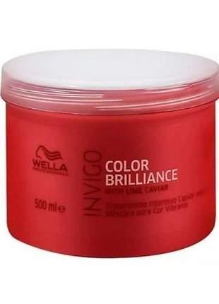 Máscara color brilliance wella professionals 500ml