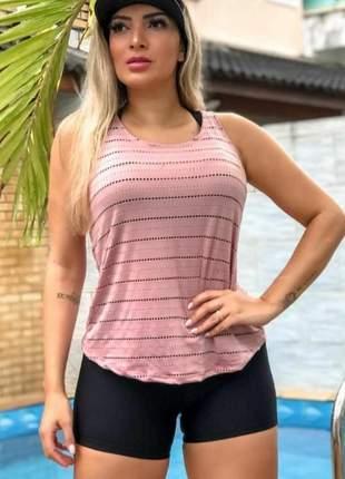 Blusa regata fitness