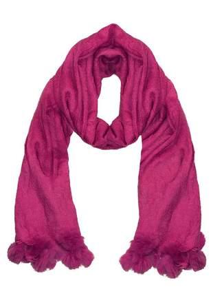 Cachecol lenço pashimina xale echarpe várias cores ref 273 (pink)