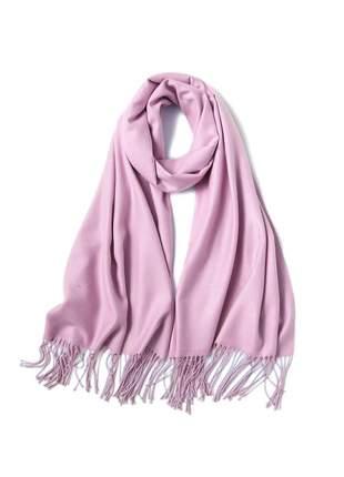 Cachecol lenço pashimina xale echarpe várias cores ref 273 (rosa-claro)