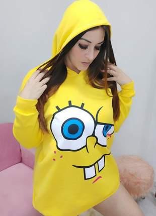 Blusão vestido bob esponja