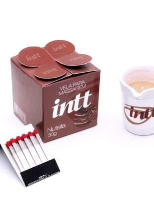 Vela comestível para massagem aroma nutella
