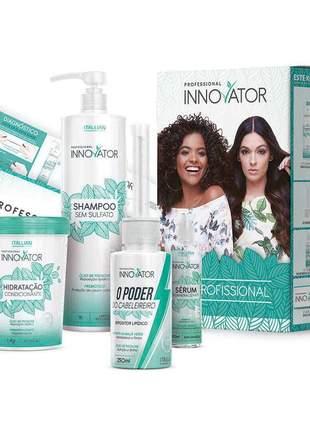Itallian innovator kit profissional remineralizante (4 produtos)