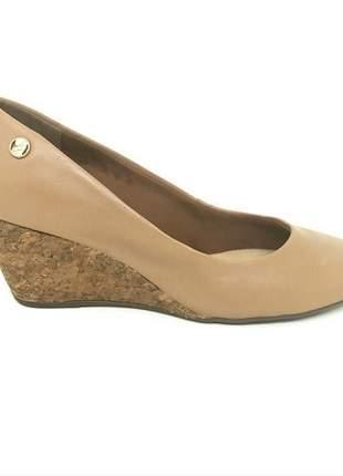 Sapato Anabela Bottero Capuccino Couro 285922