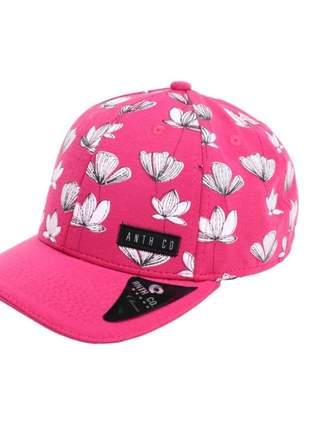 Boné Aba Curva Alt Pink Anth Co