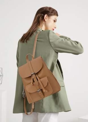 Bolsa feminina bolso frontal estilo mochila linda - luxcel