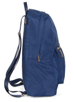 Bolsa feminina estilo mochila casual alça ajustável - luxcel