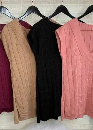 Max colete tricot