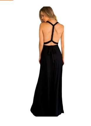 Vestido longo feminino várias formas multiuso infinit festa