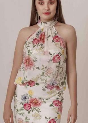 Vestido floral incrivel