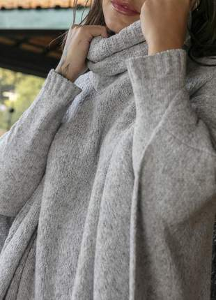 Poncho tricomix