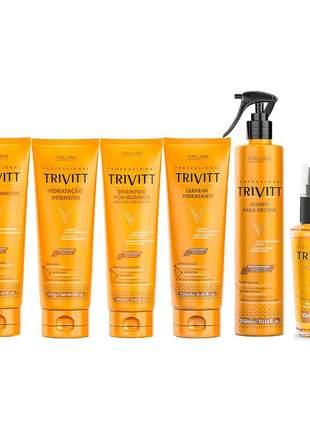 Kit trivitt manutenção pós quimica (6 itens)