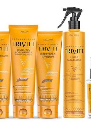Kit trivitt home care hidratação (5 itens)