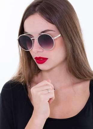 Oculos ogrife solar feminino grande og 1722-c blogueira