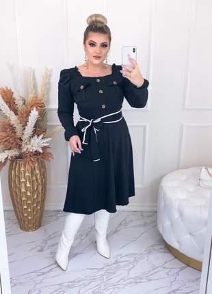 Vestido midi paola
