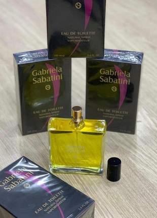 Perfume importado gabriela sabatini eau de toilette - 50ml