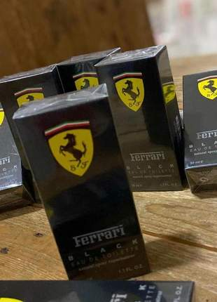 Perfume importado ferrari black eau de toilette - 50ml