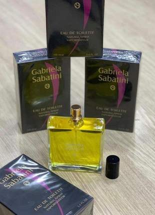 Perfume importado  gabriela sabatini feminino eau de toilette - 100ml