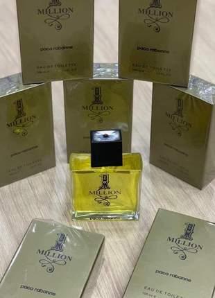Perfume importado 1 million paco rabanne eau de toilette - 100ml