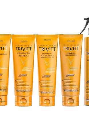 Kit trivitt home care reparação intensiva (5 itens)