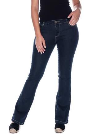 Calça jeans feminina cintura alta skinny slim levanta bumbum lycra e elastano
