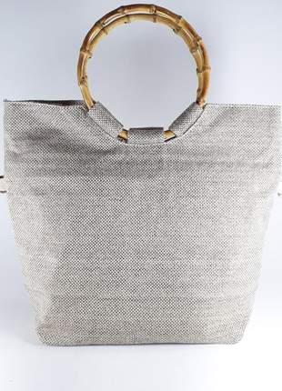 Bolsa bag monike linhão caqui
