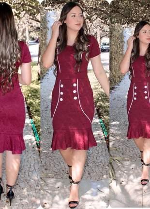 Vestido feminino evangélica  midi moda evangélica