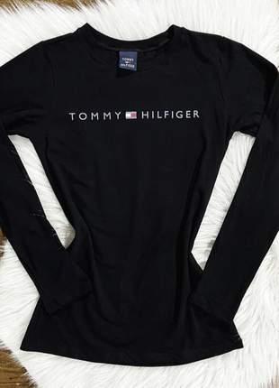 Camiseta de manga longa