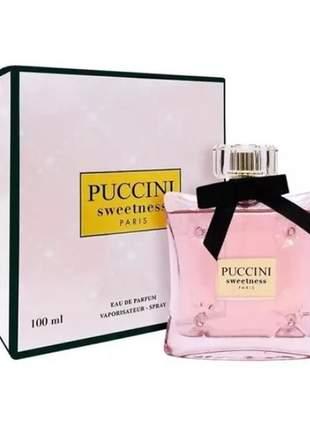 Puccini sweetness edp perfume feminino 100ml
