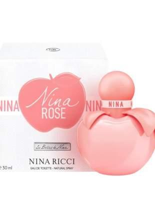 Nina rose nina ricci perfume feminino 30 ml