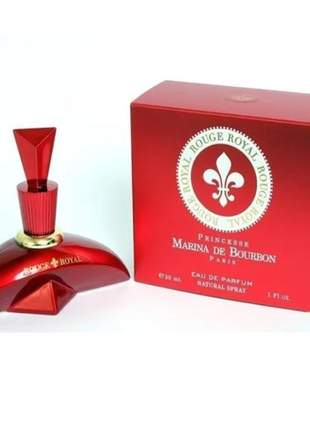 Perfume rouge royal marina de bourbon edp 30ml selo adipec