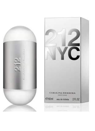 212 nyc carolina herrera edt - perfume feminino 60ml