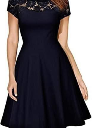 Vestido feminino midi moda evangélica, com mangas 115